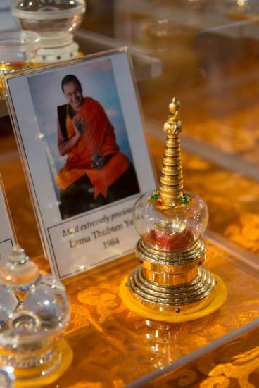 Relic of Lama Thubten Yeshe