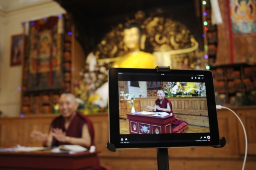 Geshe Tashi streaming teachings