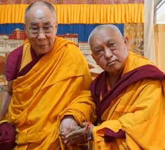 Dalai Lama and Lama Zopa Rinpoche
